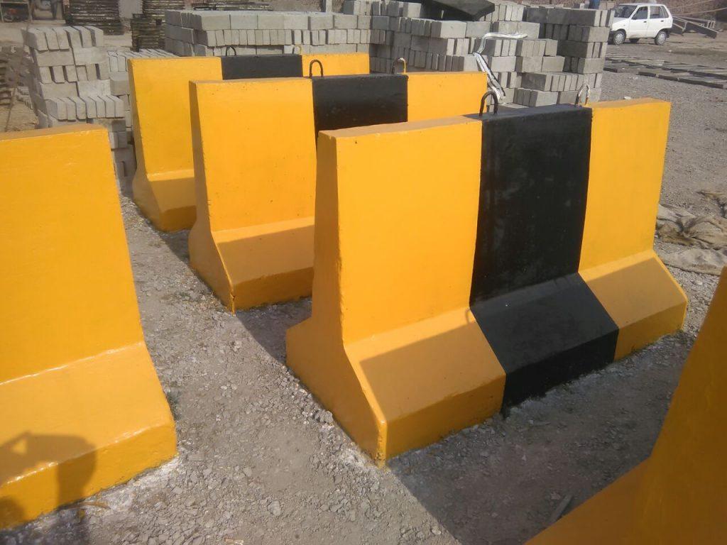 Concrete Road Blocker