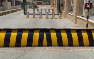 D-Type Hydraulic Road Blocker gives a high level of security against not permitted vehicle access